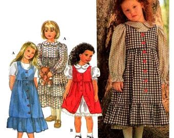 Simplicity Sewing Pattern 9780 Girl's Dress, Jumper  Size:  BB  5-6-7-8  Uncut