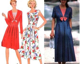Simplicity Sewing Pattern 9618 Misses' / Miss Petite Dress  Size:  R 14-16-18  Uncut