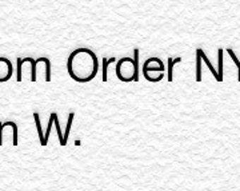 Custom dress order