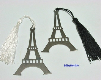 2pcs Metal Bookmark with gift box. Ideal Party Favors. #Eiffel Tower.