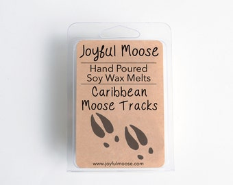Soy Wax Melts - Caribbean Moose Tracks - Scented Wax Melt