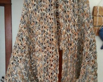Lacey crochet Shawl