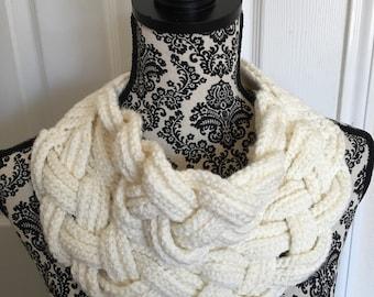 Braided Crocheted Cowl