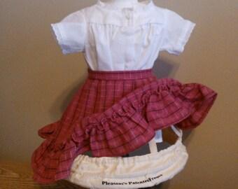 American Girl Pleasant Company Addy's Undies...Crinoline, Chemise, Petticoat...Rare 1st Version, 1st Year of Release...Minty...Retired