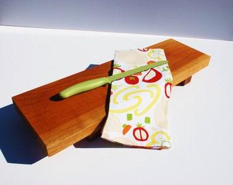 Wild Cherry Wood Bread Board - Cherry Wood Cutting Board - Serving Tray - Wedding Gift - Anniversary Gift