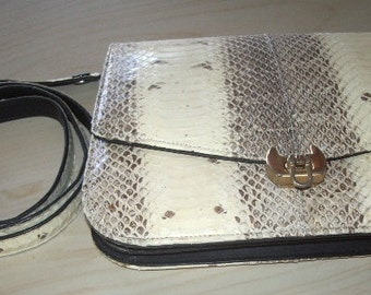 Vintage Snakeskin Purse clutch