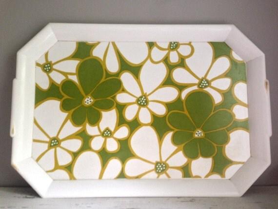 Mod Flower Serving Tray