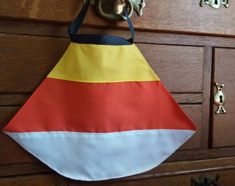 Candy Corn Cape for Halloween