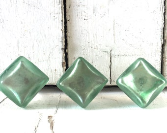 Glass Knobs, Sea Glass Decor, Glass Knobs for Cabinets, Glass Knob Pulls, Turquoise Knobs, Kitchen Decor, Sea Glass Knobs, Drawer Pulls