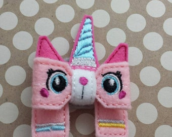 Unicorn Kitten Removable Bow