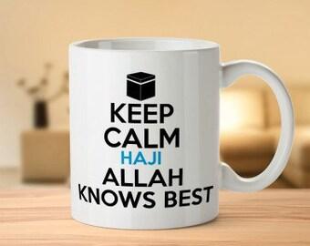 Keep Calm Allah knows Best Mug