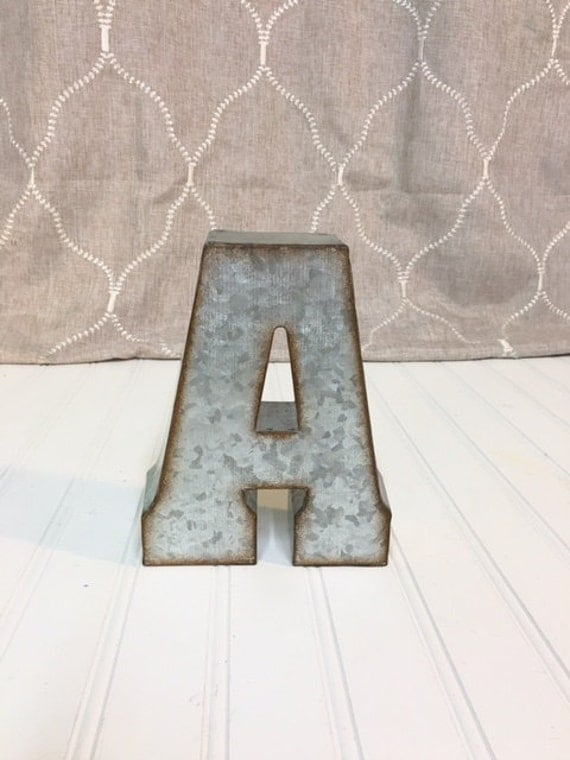 metal letters for wall metal letters letter a nursery decor wall by theshabbystore 17239