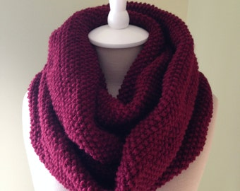 Infinity Scarf in Berry