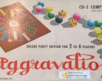 1972 Vintage CO-5 Company Aggravation Game