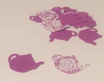 Teapot Confetti - 100 Pieces