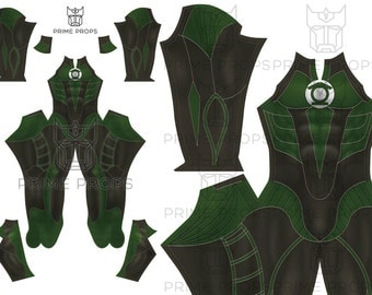 Green Lantern Costume Pattern