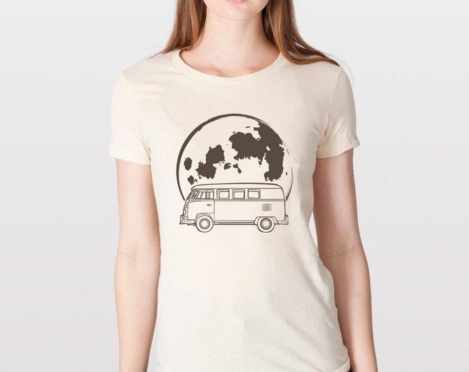 KillerBeeMoto: Limited Release German Engineered Hippie Carrier Moon Bus Transport Cartoon Version T-Shirt