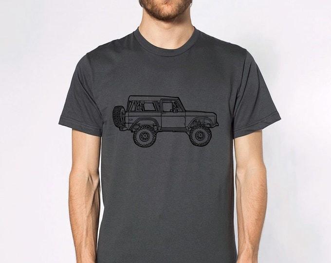KillerBeeMoto: Vintage American Off Road Vehicle Truck Cartoon Short & Long Sleeve Shirt