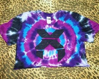 Custom Excision or destroid crop top shirt