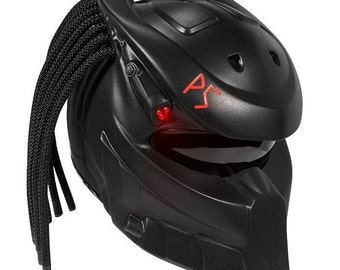 Predator Strong – badass motorcycle helmet. Genuine DOT/ECE