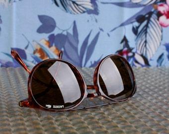RARE Lacoste Vintage Sunglasses - Tortoise effect