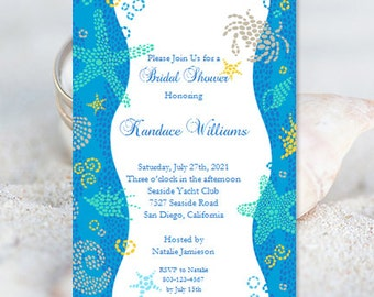 beach bridal shower invitations wedding shower invitation template beach theme bridal shower invitation templates diy you