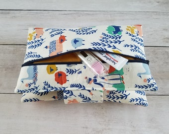 Update Option | Zippered Outside Pocket for Diaper Clutch