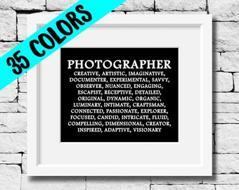 Photographer Quote, Photographer Print, Photography Quote, Photography Print, Photographer, Photog Quote, Photographer Gift,Photography