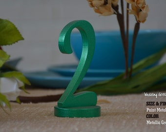 Metallic SET 1-20, Table Number, Wedding Reception Table, 10 table numbers