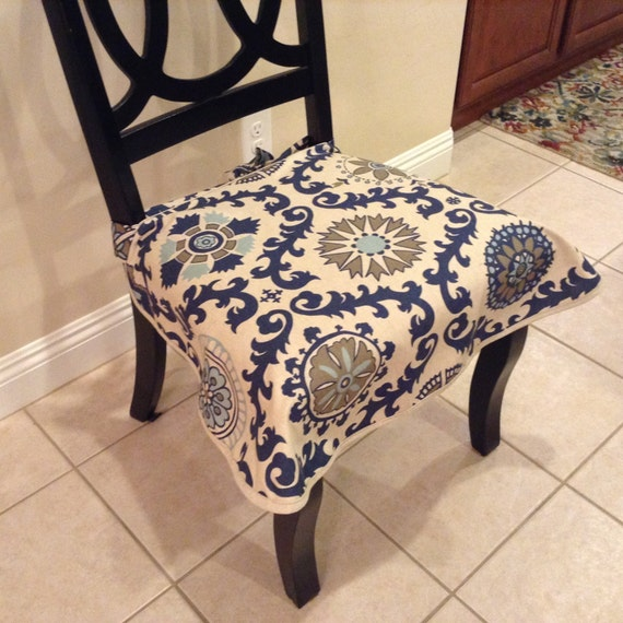 Missoni Fabric Covered Bergere Chair: Seat Slipcover For Upholstered Chairs Dining Chair Seat Cover