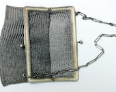 Sterling Silver Chain Link Purse 1920s