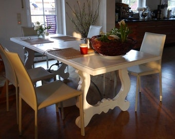 White Fratino Dining Table