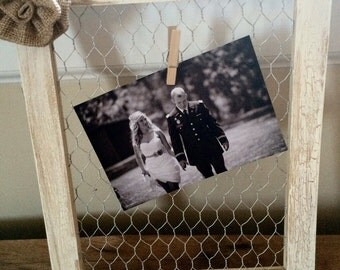 BUY 2 GET 1 FREE Rustic Chicken Wire Frame