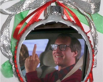 Christmas Vacation inspired Tribute Christmas Ornament 8