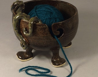 Tentacled Yarn Bowl