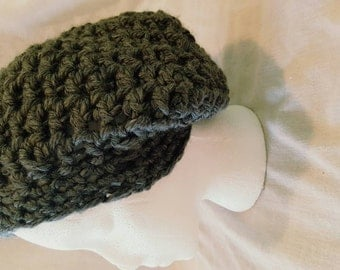 Crochet Slouchy Hat, custom colors and sizes available