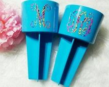 Monogrammed Beach Spiker | Beach Drink Holder | Custom Beach Spiker | Personalized Beach Cup Holder
