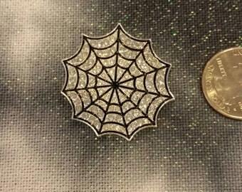 Crystal Spider Web Needle Minder