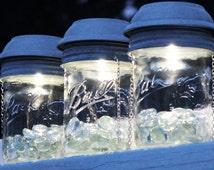 Mason Jar Solar Lantern Lid, Solar Light, Outdoor Lantern, Lighting, Hanging Lantern, Mason Jar Solar Lid, Wide Mouth, Regular Mouth