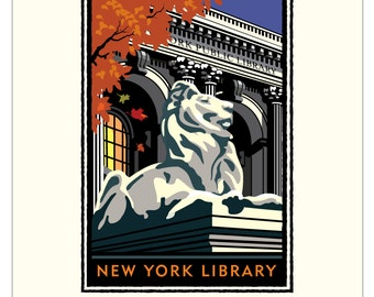 Landmark NY   Public Library by Mark Herman