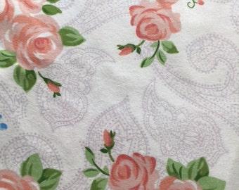 Vintgage Floral Flannel