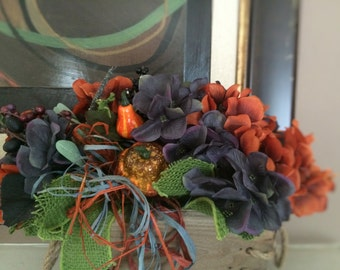Fall Centerpiece, Autum Centerpiece, Thanksgiving Centerpiece, Holiday Centerpiece, Home Decor, Thanksgiving decor, Autumn Decor