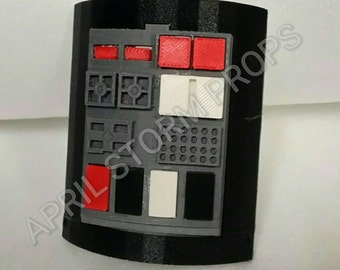 Imperial Commpad Tie Fighter Pilot from 3D Printed in color ABS as pictured