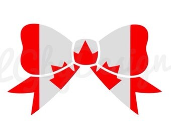 Canada Bow Decal