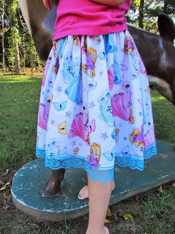 Princess skirt/Disney skirt/Princess outfit/Princess birthday/girls cindarella/Repunzel/sleeping beauty/girls disney outfit/Disney skirt