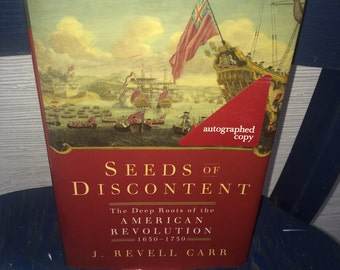 seeds of discontent- autographed