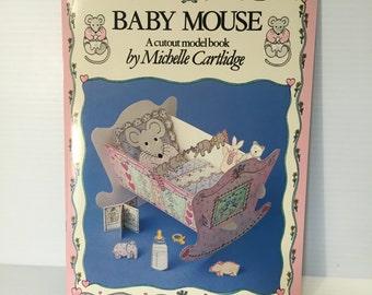 MOUSE Paper Dolls, vintage mouse paper dolls, unique mouse gift, kitsch mouse gift, cute mouse paper dolls,cute mouse gift, gift for her