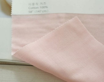 Double Gauze Light Pink By The Yard