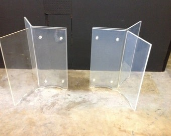 Vintage Lucite Table Bases