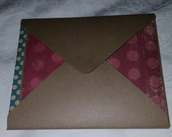Exploding envelope squash book
